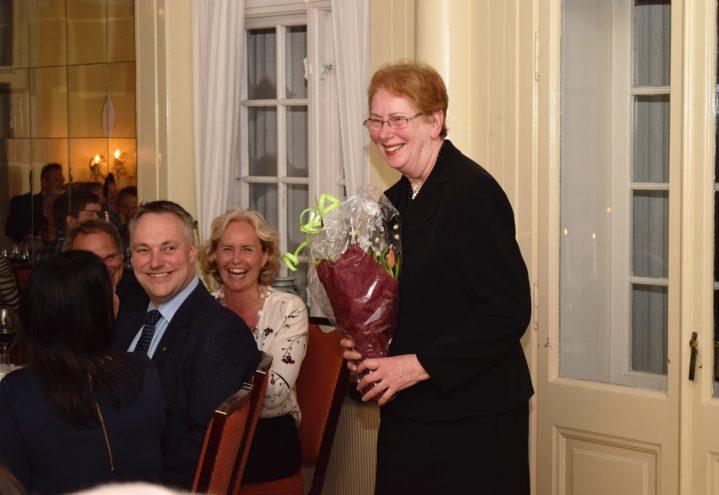 Sølvi Vrangsund er glad for ekteskapet mellom Gjerpen og Solum.