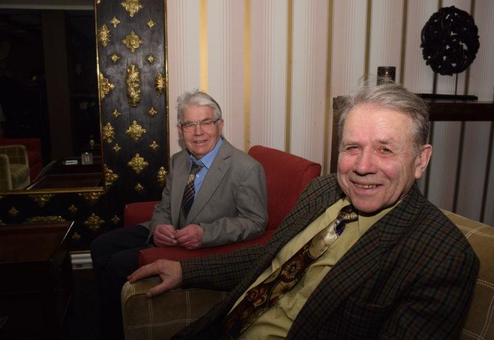Gunleik Bolkesjø (til venstre) og Olav Nisi synes tiden er moden for en sammenslåing.