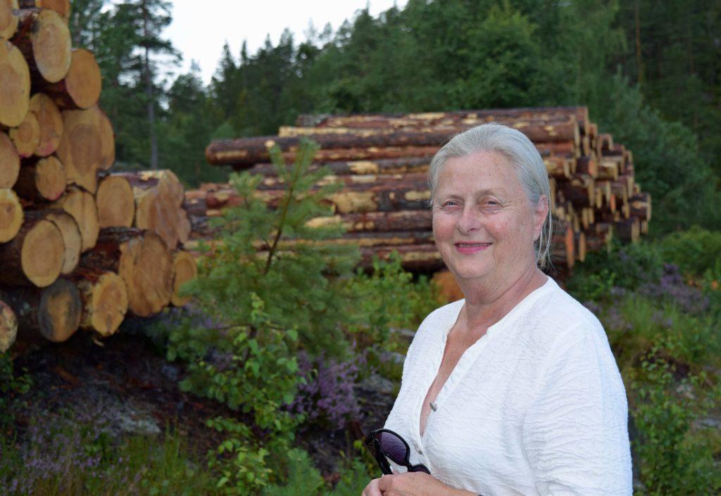 Eva arvet skog da hun var 73