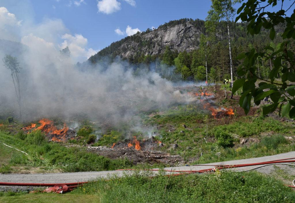 Brannvesenet skjerper totalforbudet