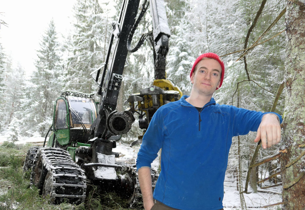 Skogsmaskinfører, men mangler fagbrev?