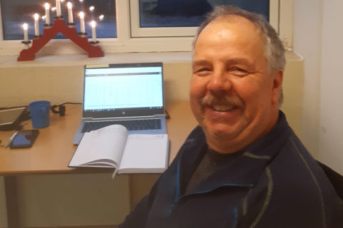 Kai Oves nye kontor i Lyngdal