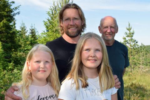 John er femte generasjon skogeier